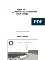 EgyE 101 Lecture - Resource Assessment Wind Energy