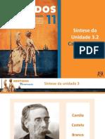 Síntese Da Unidade 3.2 - Camilo Castelo Branco, Amor de Perdição