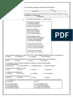 Prueba 2° semestre Lenguaje y comunicacion 8° Basico.docx