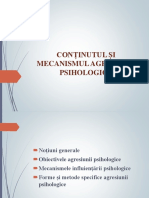 Conținutul Și Mecanismul Agresiunii Psihologice