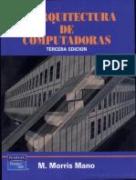 Arquitectura de Computadoras - Morris Mano
