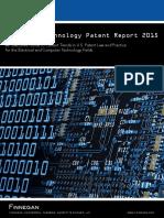 Presentation NewsAttachment FinneganAdvancedTechnologyPatentReport2015 FINAL
