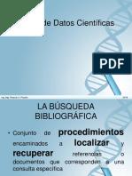 Bases de Datos Cientificas