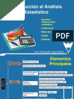 Introducción al análisis Estadístico