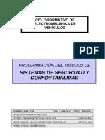 PROGRAMACION Sistemas de Seguridad y Confortabilidad 2EMV