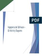 Lezione 9 - Activity Diagrams