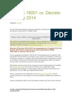 Bibliografia Salud Ocupacional SST Comparativo Leyes y Normas