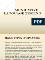 Assessing Speaking - Copy