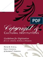Copyright and Cultural Institutions