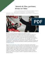 Una Trágica Historia de Mao