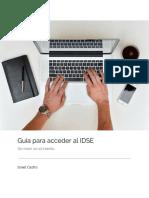 Guía Para Acceder Al IDSE