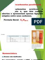 Hidrocarbonetos 3º 1 e 2