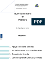 Nutrición Enteral en Pediatría SAN 2018- Copia