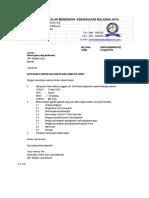 Surat Panggilan Mesyuarat Panitia MT n SC Bil 22018