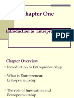 1st Chapter Entrepreneurship