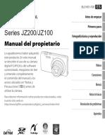 Manual de Usuario Camara Fuji Fine Pix JZ100