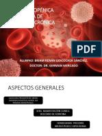 Anemia Ferropénica y Anemia de Enfermedad Crónica