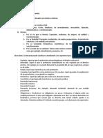 Derecho Procesal Civil, Clasificación de La Demanda, Defectos de La Demanda