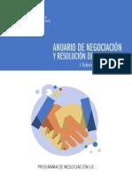 Anuario de Negociación y Resolución de Conflictos