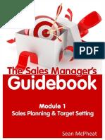 Sales Managers Guidebook Module 1