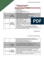 Calendario de Evaluaciones 6