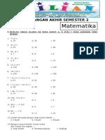 Soal UAS Matematika Kelas 2 SD Semester 2 Dan Kunci Jawaban.pdf