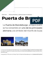 Puerta de Brandeburgo - El símbolo de Berlín, historia y leyendas.pdf