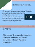 Metodo de La Ciencia Economia