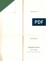 Agamben Giorgio - Signatura Rerum