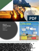 Efectos Del Uso Indiscriminado de La Energía y