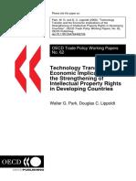 Tech Transfer w Doug Lippoldt