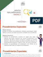 Modulo II - Curso 2 - Unidad 3 - Procedimientos Parlamentarios - Copia