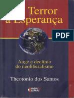SANTOS, Theotonio dos. Do Terror à Esperança
