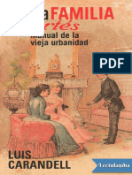 La Familia Cortes - Luis Carandell
