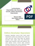 Konsep Kespro Dan Gender Dalam Kespro