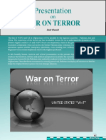 "United States' ""WAR ON TERROR"""
