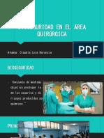 Bioseguridad en El Area Quirurgica
