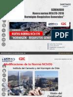 Seminario Norma NCh170 Carlos Fernández