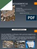 Rocas Metamorficas GEOLOGÍA