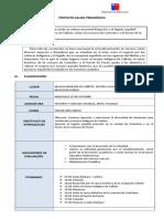 Proyecto Salida Pedagogica Cañete