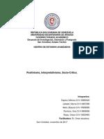 Actividad Epistemología de La Ciencia Positivismo, Interpretativismo, Socio-Critico