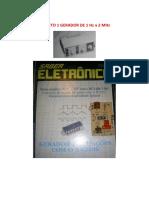 Projetos Gerador de 1 Hz a 2 Mhz