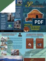 Piedras con raices - la revista de la arquitectura vernacula extremeña