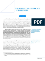 Ecommerce Impacts and Policy Challenges