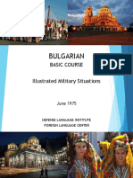 DLI Bulgarian - Illustrated Military Situations
