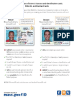Real ID reminder from the Massachusetts Registry of Motor Vehicles