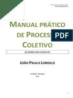 JPL - Manual Prático de Processo Coletivo