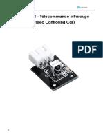 Leçon 3 - Télécommande Infrarouge (Infrared Remote Control Car)