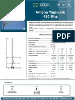 Antenas Yagi Ideal 450 MHz