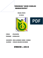 Caratula Universidad Jose Carlos Mariategui
